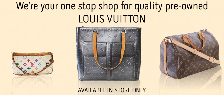 Louis Vuitton at A&V Pawn Shop