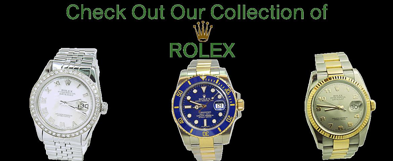 Rolex at A&V Pawn Shop