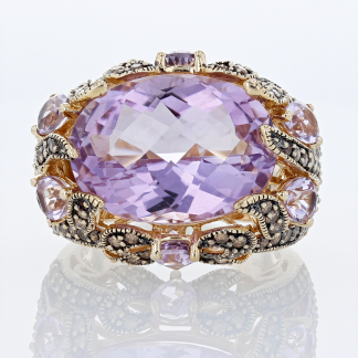 Le Vian Diamond & Amethyst Ring