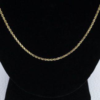 """14k Rope Chain 21"""""""