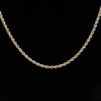 """14K Rope Chain 18"""""""