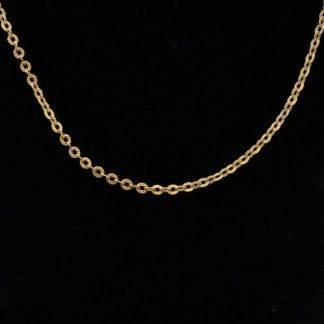 """18K Rolo Link Chain 20"""""""