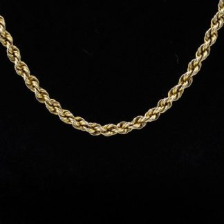 """14k Rope Chain 23"""""""